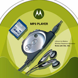 Motorola premium accessories - customizable thermoform package