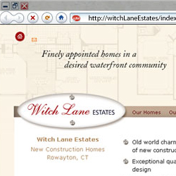 web site for Witch Lane Estates